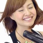 髪を早く乾かす方法と冷風の使い方!乾かさないと痛むの?