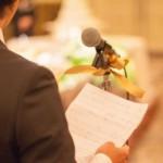 結婚式で新郎の友人スピーチ!マナーとエピソードの選び方は?