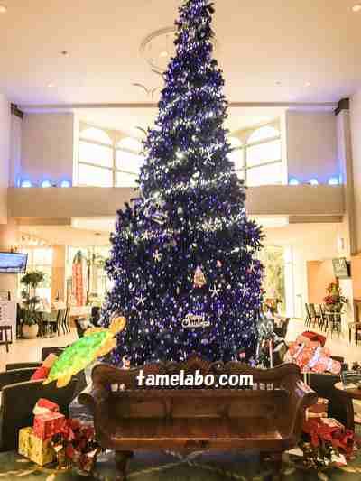 ホテルブリーズベイマリーナ クリスマスツリー